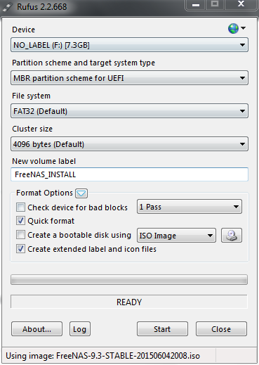 Install and Setup FreeNAS on Dell CS24-SC | Michael Groff