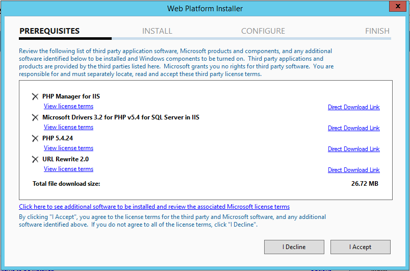 how to use clean url in a windows iis server